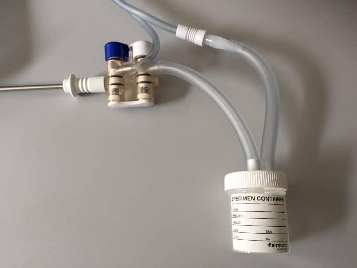 DSJ 5007 connecté à Irrigation/Aspiration de coeliochirurgie- avemi.fr